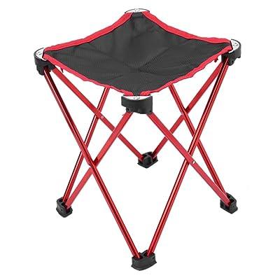 Mini Tabouret Pliable Chaise Pliante Sige Ultralger Portable 4 Jambes Avec Sac De Rangement Pour Camping Randonne Voyages Pche Pique Nique Barbecue