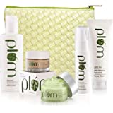 Plum Green Tea - Face Care Full Set with Kit Bag, 435 ml (Pack of 5), For Oily & Acne Prone Skin, Vegan Skin Care
