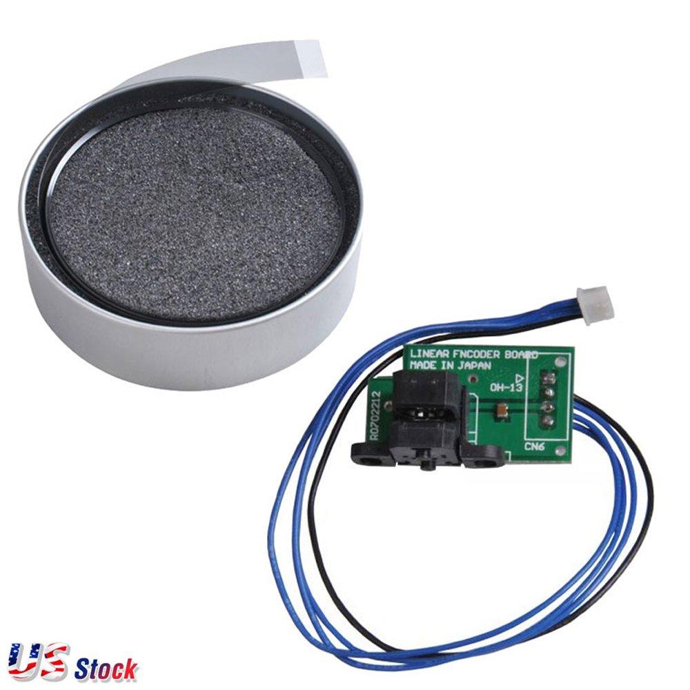 Encoder Strip + Linear Encoder Board/Sensor for Roland SJ-540 / SJ-740 / FJ-540 / SJ-740 / SC-540 - US Stock