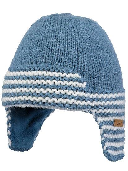 bf2f1c400478 Barts-Bonnet Naissance en Maille Bleu bébé Fille du 3 au 12 Mois   Amazon.fr  Vêtements et accessoires