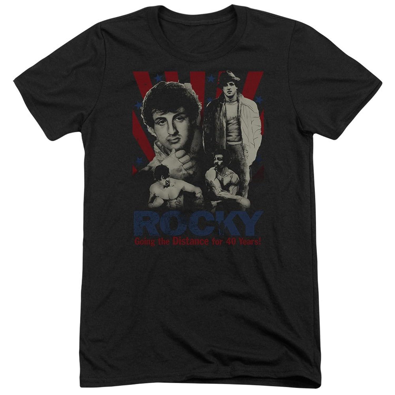 Rocky Men's Going The Distance Tri-Blend T-Shirt