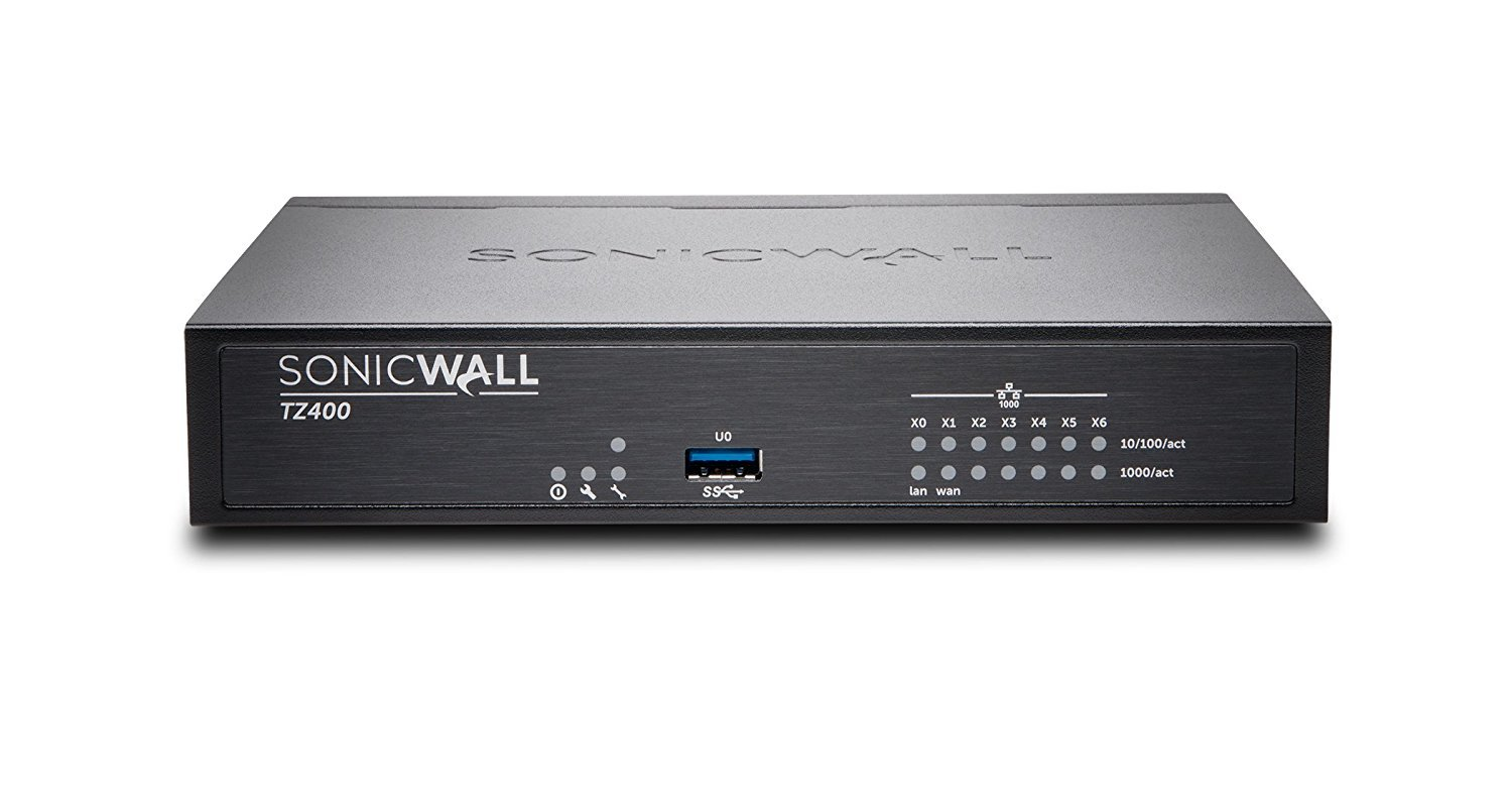 SonicWALL | 01-SSC-0505 | SonicWALL TZ400 Secure Upgrade Plus Comprehensive Gateway Security Suite, 3 Year Service Included
