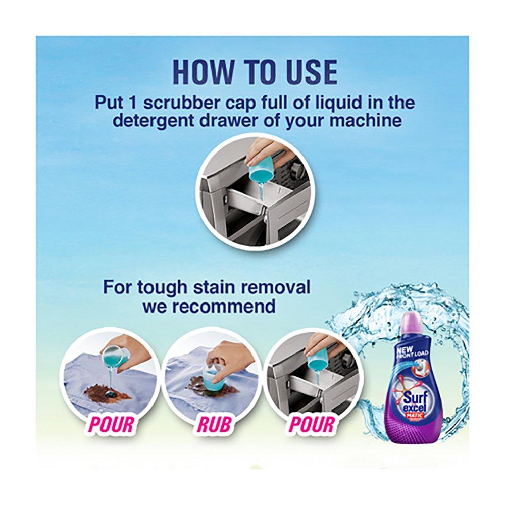 Buy Surf Excel Matic Liquid Detergent Front Load 102 L Online At
