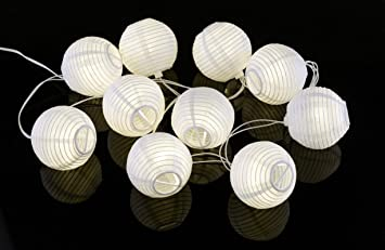 Amazon e joy solar led lantern string lights globe white e joy solar led lantern string lights globe white pack of 20 mozeypictures Image collections