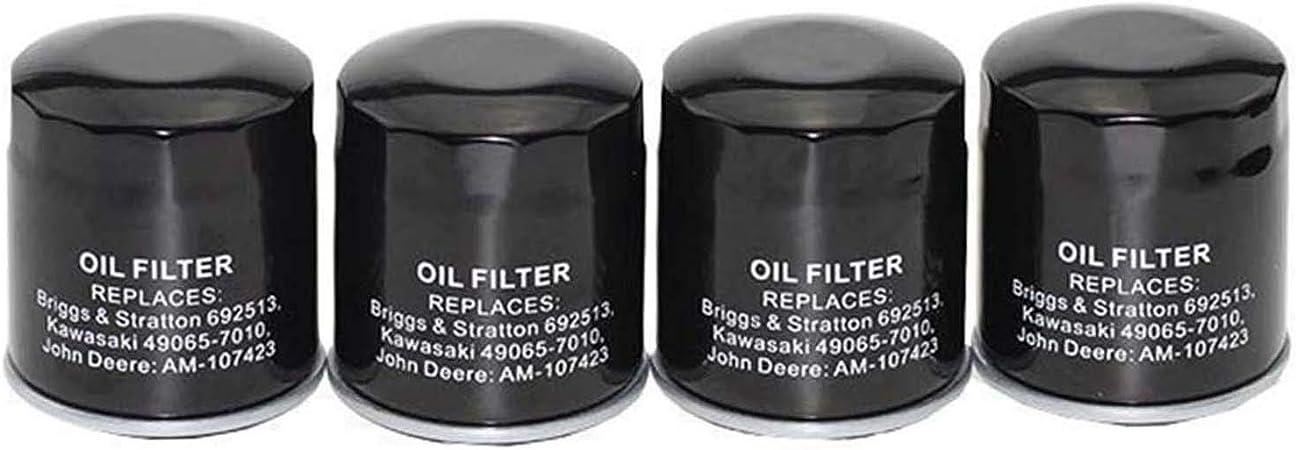 Amazon.com: Piezas Club filtro de aceite reemplazar Kawasaki ...