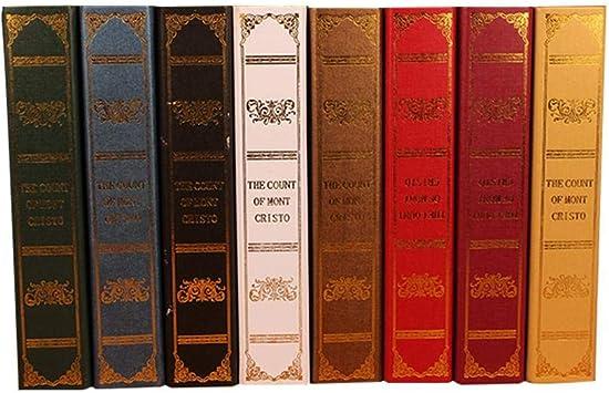 Per Libros Simulados de Decoración para Casa Cajas de Libros de ...