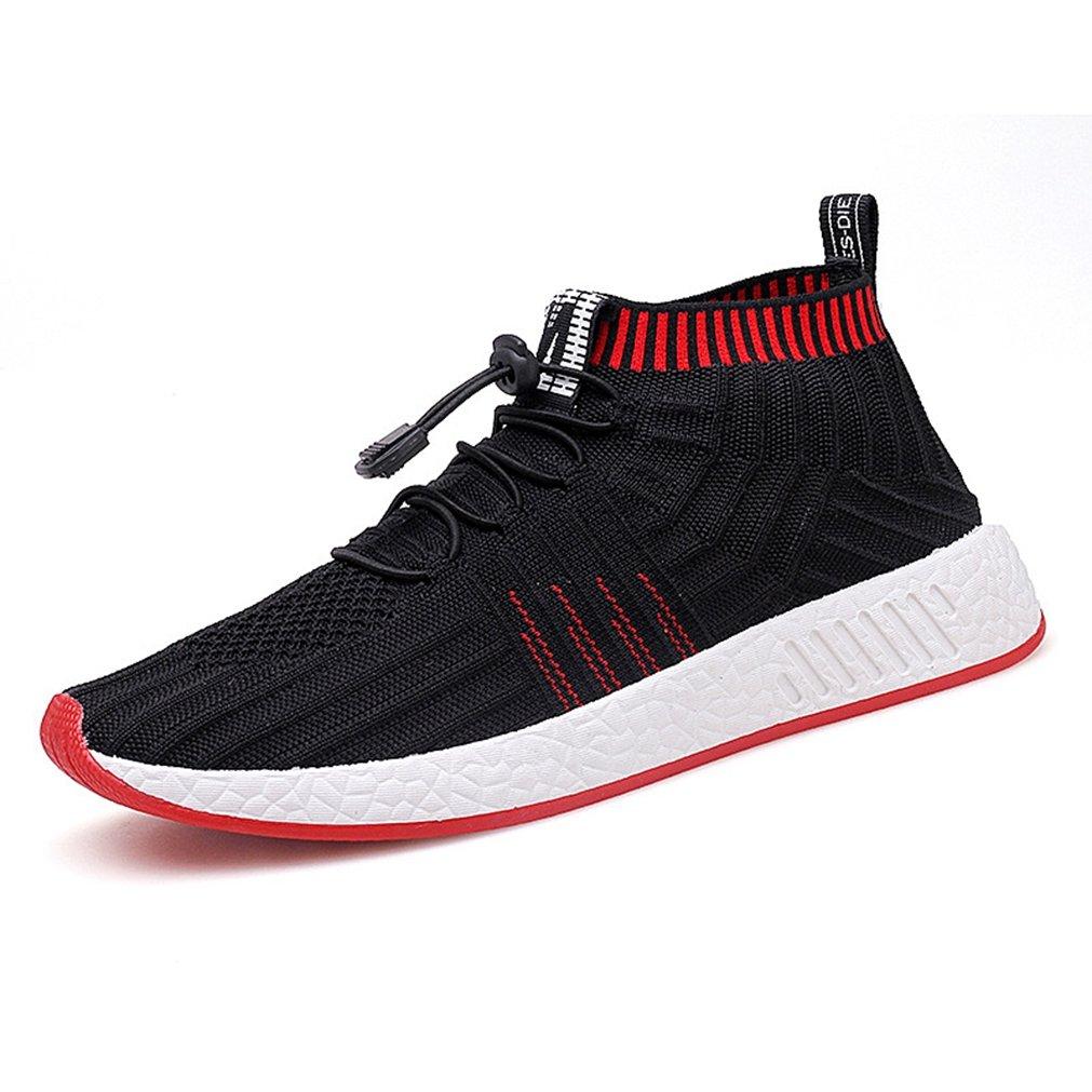 LFEU botas de caño bajo Hombre 39 EU|negro y rojo