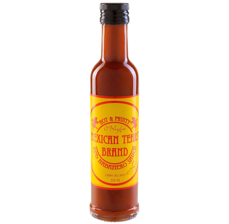 Mexican Tears Red Habanero Sauce scharfe Sauce aus Chili