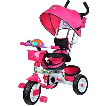 DACHUI Triciclo para niños Cochecito de bebé, niño ...