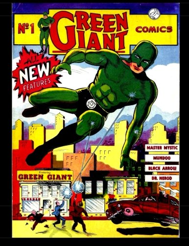 Green Giant Comics #1: Golden Age Superhero