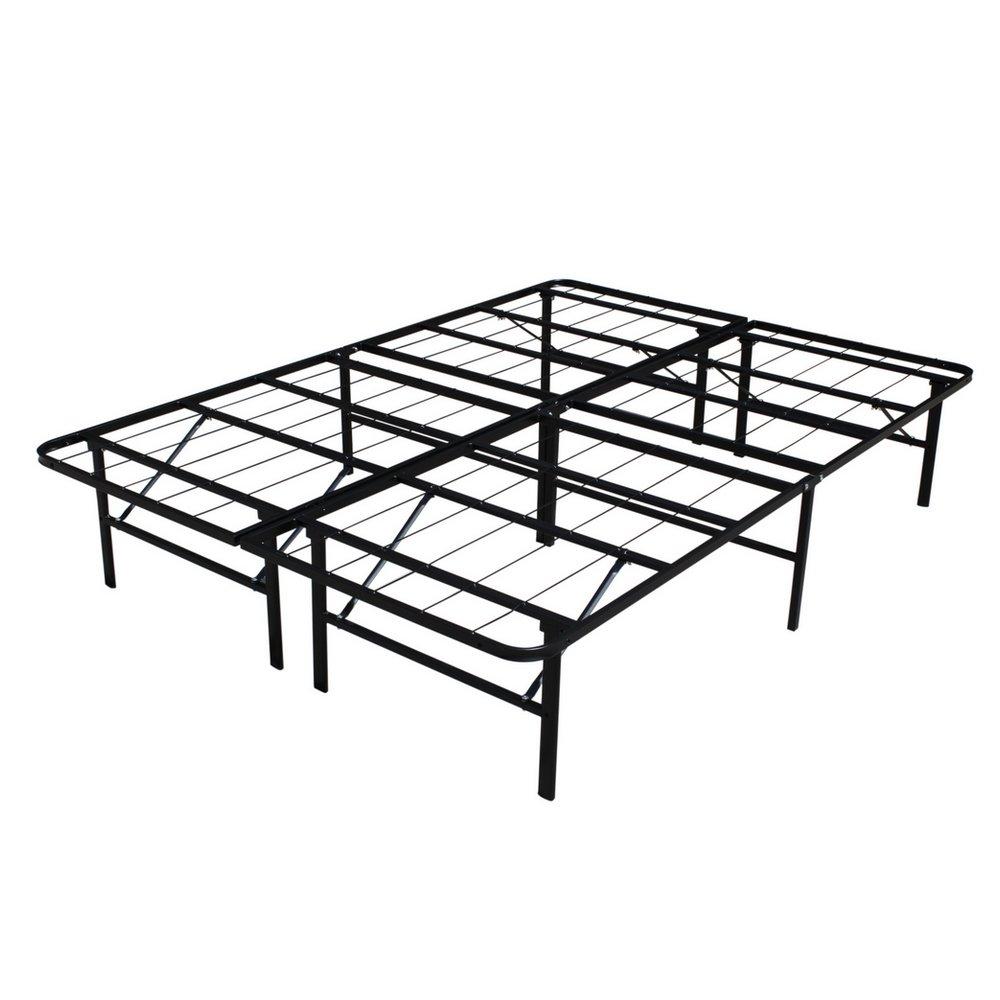 Homegear Platform Metal Bed Frame Mattress Foundation – Double