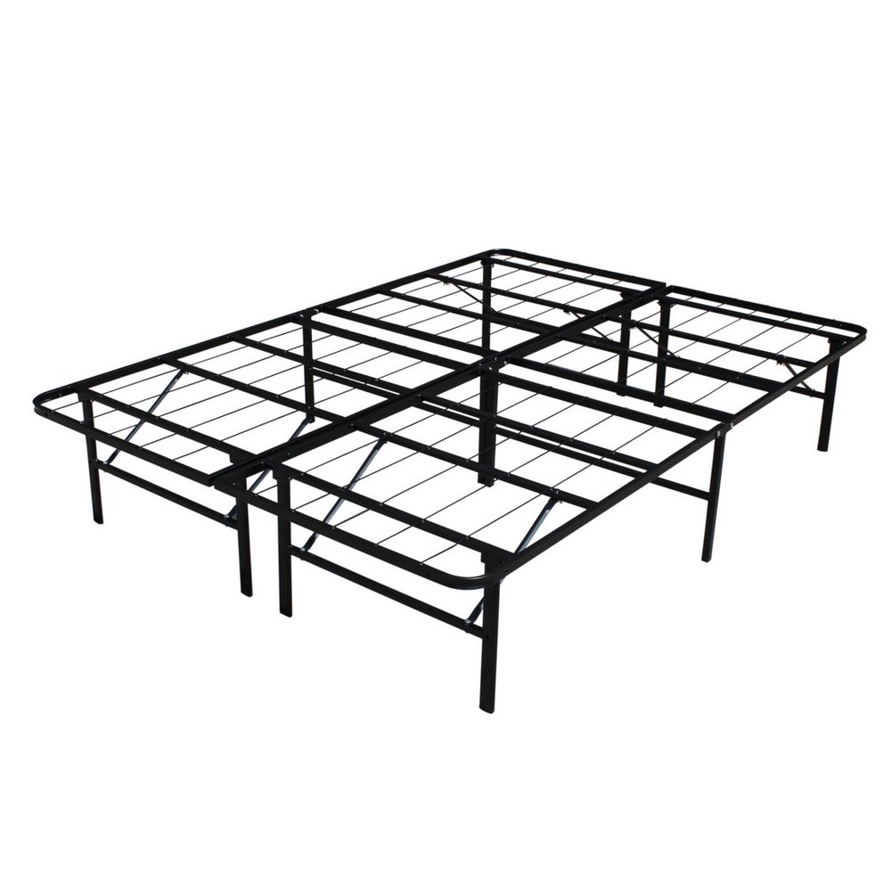 Homegear Platform Metal Bed Frame/Mattress Foundation - Double by Homegear