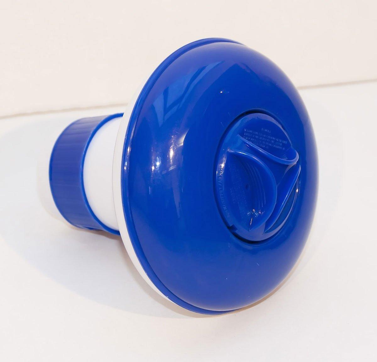 Piscina Dosificador flotante de cloro dosificadora flotador para 20 g pastillas de cloro: Amazon.es: Jardín