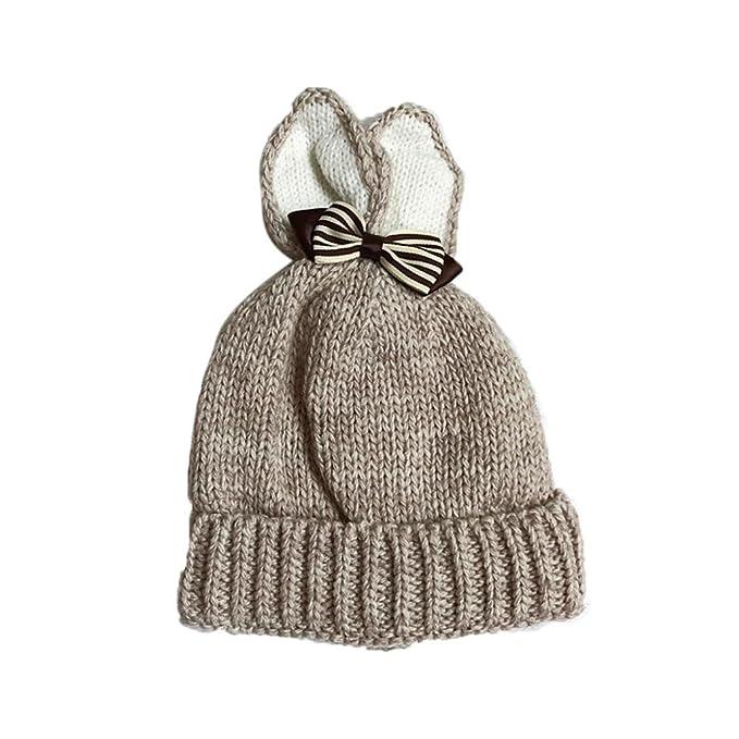 Baby Mütze Clode® Strickschmetterling Kaninchen Ohren Baby Kleinkind ...