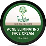 TreeActiv Acne Eliminating Face Cream | Cystic Acne Treatment | Natural, Extra Strength, Fast Acting for Clearing Facial…