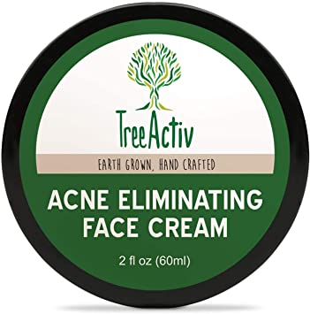 Amazon Com Treeactiv Acne Eliminating Face Cream Cystic Acne
