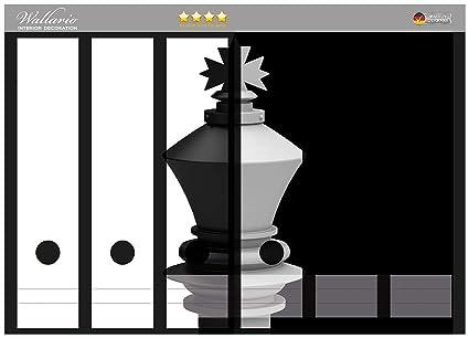 Adhesivo de carpeta de la parte de la espalda de ajedrez colour negro-blanco en