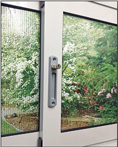 Cierre ventana sobreponer c/llave pulsador: Amazon.es: Bricolaje y herramientas