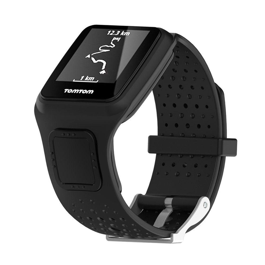 ... Band for Tomtom Multi-Sport Runner Silicon Sports Watch Band Wristband  Strap for Tomtom Runner and Multi-Sport GPS and Runner Cardio  Sports    Outdoors 8fde3c47160