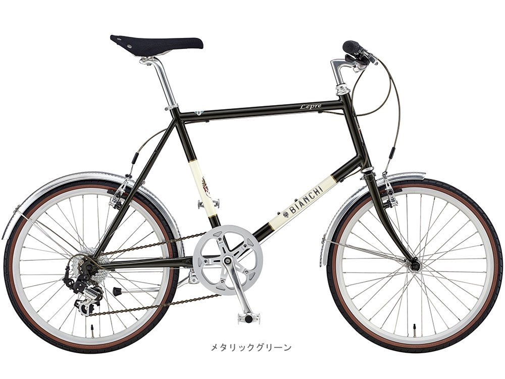 BIANCHI(ビアンキ) 2018 MINIVELO-7(1x7段)ミニベロバイク <メタリックグリーン> B077YTWG3P43