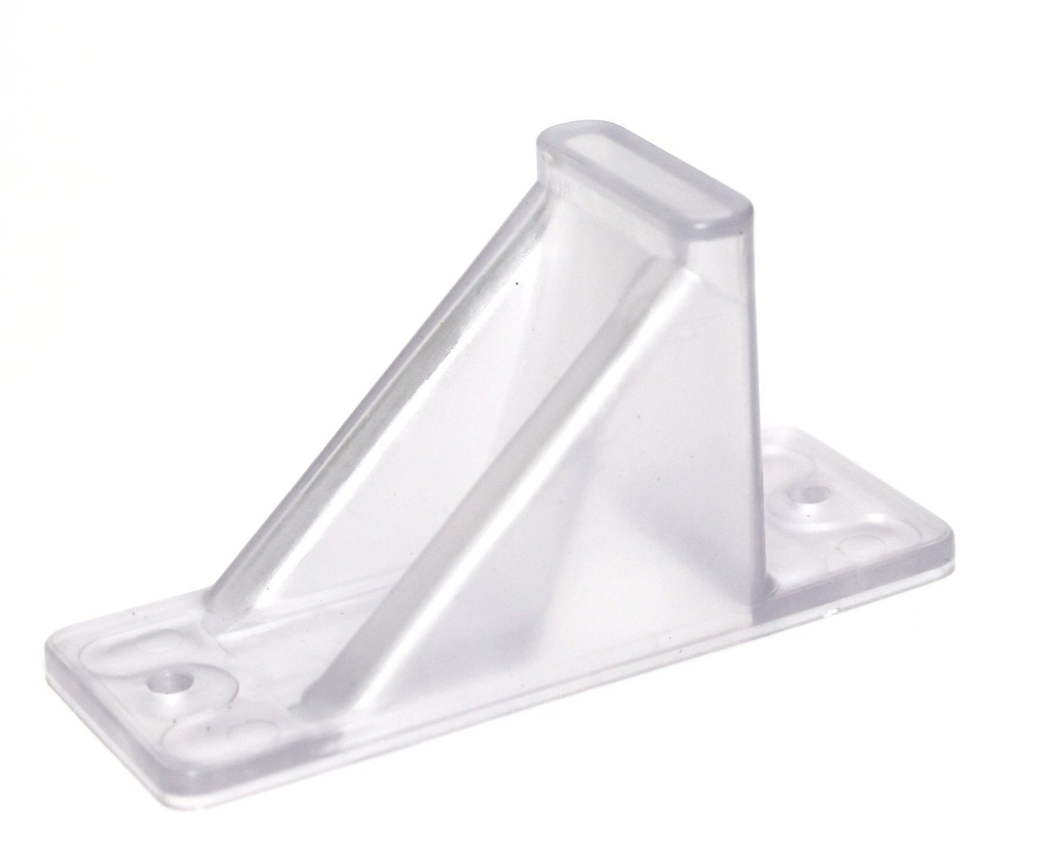Plastic Roof Ice Guard Mini Snow Guard (100 Pack)Prevent Sliding Snow Ice Buildup-Acrylic