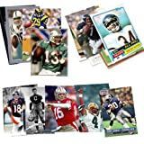 #3: Topps, Upper deck, Donruss, Fleer, Score, Upperdeck 40 Football Hall-of-Fame & Superstar Cards Collection Including Dan Marino, Troy Aikman, Jim Thorpe, Joe Montana, John Elway and Barry Sanders