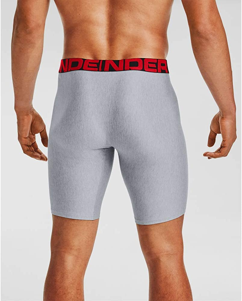 Under Armour Men's Tech 9-inch Boxerjock 2-Pack: Clothing