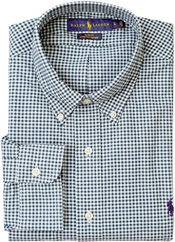 Polo Ralph Lauren Mens Stretch Oxford Slim Fit Sport Shirt