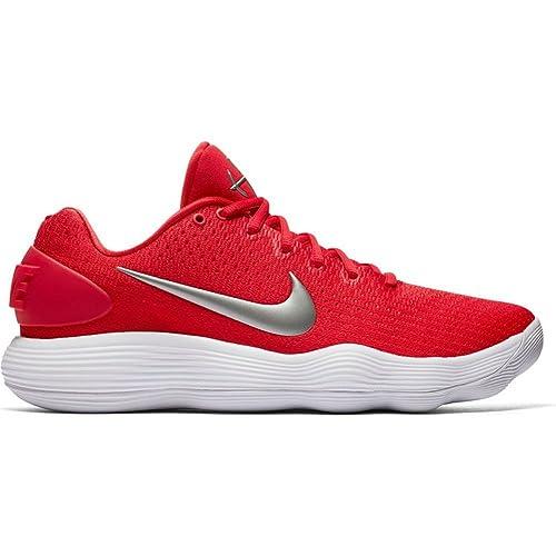 low cost 01dfa e22f8 Nike Hyperdunk 2017 Bassa TB Scarpe da Basket 897807 601 Rosso Taglia 10 UK  Maschile  Amazon.it  Scarpe e borse