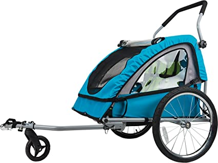 amazon com bell smooth sailer child trailer sports outdoors rh amazon com bell bike trailer installation bell double bike trailer manual