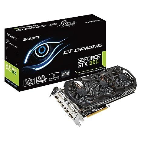GV-N960G1 GAMING-4GD NVIDIA GeForce GTX 960 4GB: Amazon.es ...