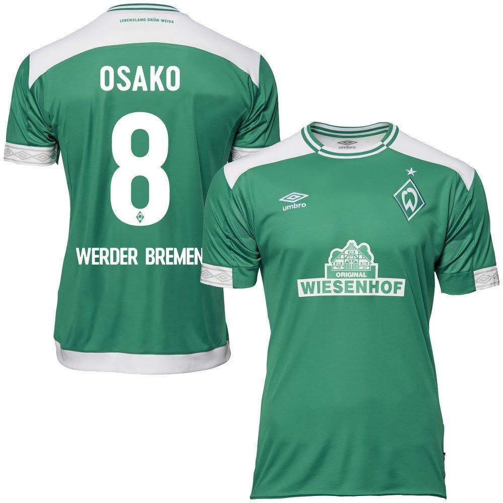 Werder Bremen Home Trikot 2018 2019 + Osako 8