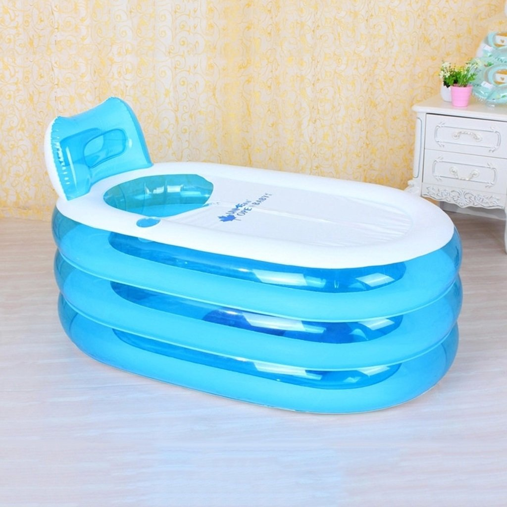Practical portable child adult inflatable bathtub Thickened adult ...