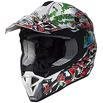 Casco Moto Cross Enduro Premier exige 2017 GR8 MEDIUM