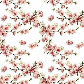 Designer Polster, Vorhang, Nähen Stoff - Kirschblüte, \