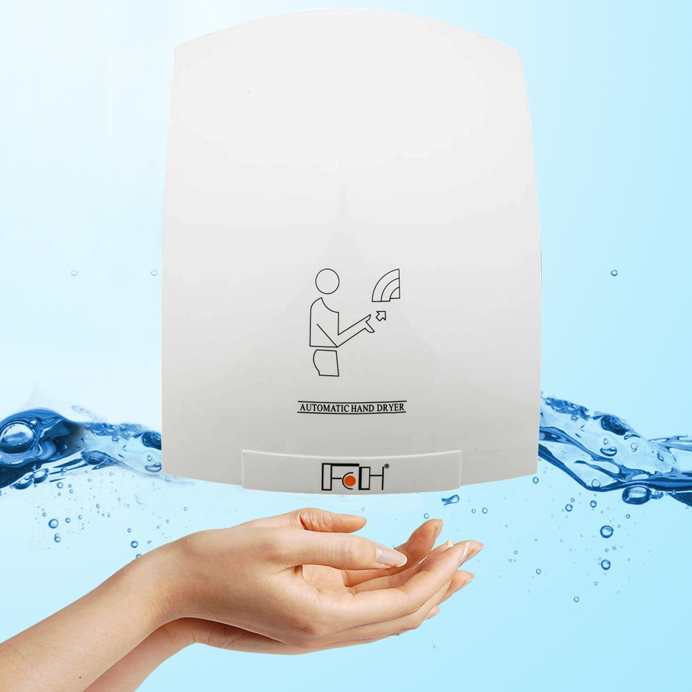 FCH Electric Hand Dryer Automatic Household Hotel Commercial Infared Sensor Hands Drying Device