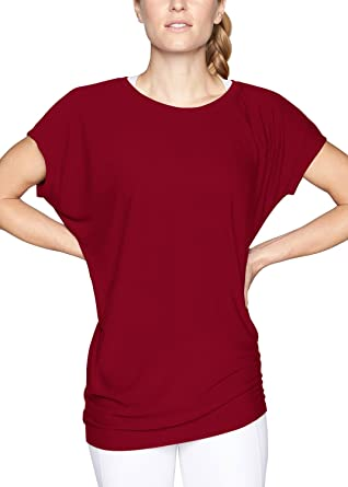 89c954806563 Yucharmyi Women s Summer Short Sleeve Dolman Tunic Top Casual Round Neck Loose  T Shirt Tops with