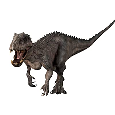 "Nanmu Studio 1/35 Scale Indominus Rex Statue Realistic Bereserker 17.7"" Large Jurassic Dinosaur Action Figure PVC Model Toys Collector Decor Indoraptor Gift for Adult: Toys & Games"