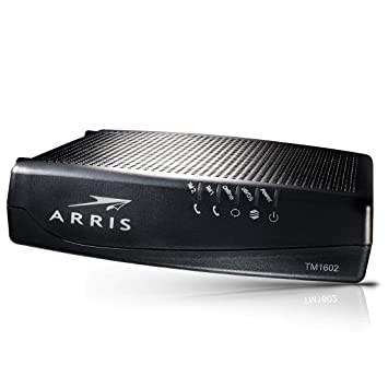 Arris Touchstone TM1602A DOCSIS 3 0 Upgradeable 16x4 Telephony Modem for  TWC & OPTIMUM