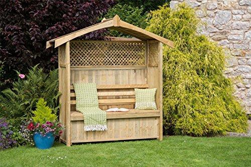 Hampshire Gartenlaube mit Aufbewahrungsbox
