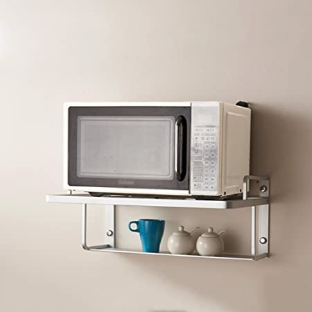 Estante para horno de microondas, espacio engrosado Soporte ...