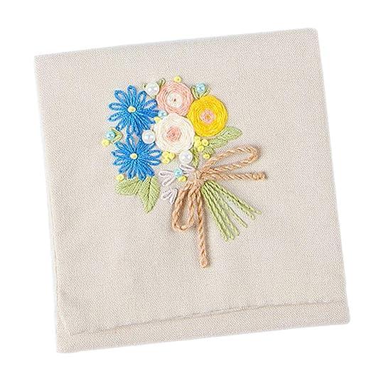 1 Juego De Bordado Kit De Inicio Costura Artesanía Floral ...