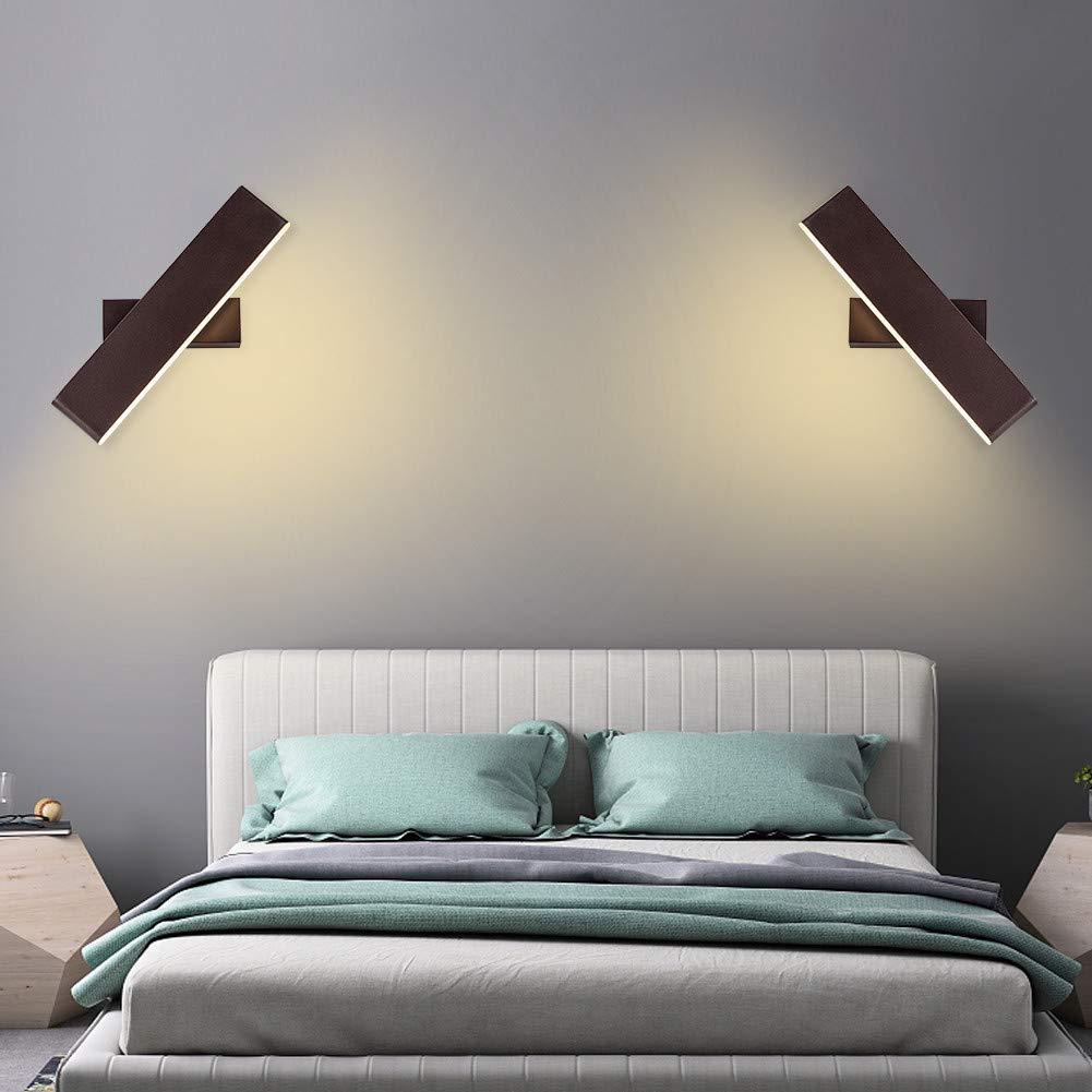 HOUDES Modern Wall Sconce Lighting Fixture Adjustable ...