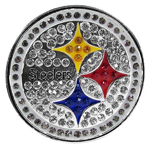 NFL Pittsburgh Steelers Womens Crystal - Helmet Pittsburgh Steelers Pin