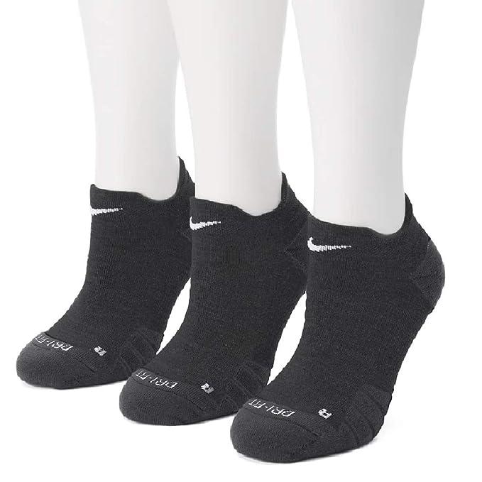 f6eb05d125 NIKE Women's 3-pk. Dri-FIT Low Cut Socks (Black)