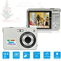 HD Mini Digital Cameras for Kids Teens Beginners,Point and Shoot Digital Video Cameras for Birthday Christmas