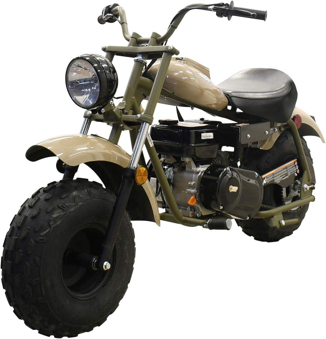 M MASSIMO MOTOR Warrior200 196CC Engine Super Size Mini Moto Trail Bike MX Street