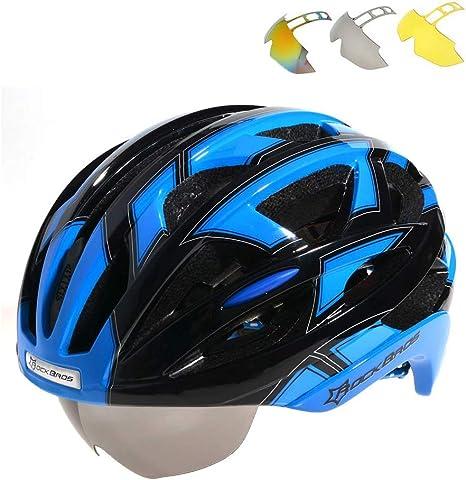 ROCKBROS Bicicleta Casco Carretera Bicicleta Casco MTB Casco ...