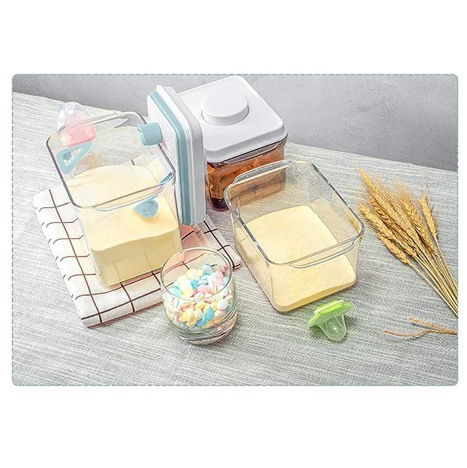 Milchpulverspender Milchpulver Pot Box Anti-UV Luftdichten Baby Tragbare Formel Milch Vorratsbeh/älter f/ür Kleinkind Kinder BPA-frei,Brown,S