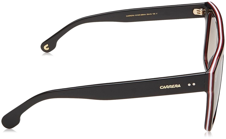 38f8bc7da14 Amazon.com  Carrera 1010 s Rectangular Sunglasses DKHAVANA 55 mm  Clothing